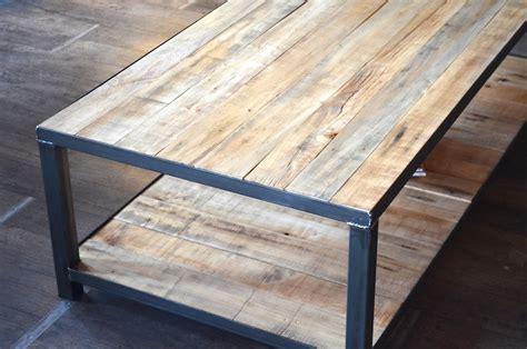 bureaux bois massif table basse bois de palette sur mesure micheli design