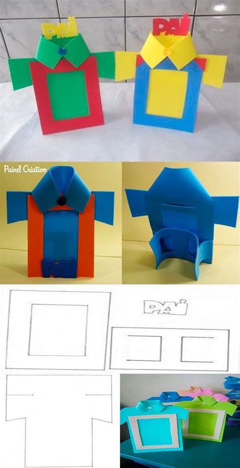 moldes para hacer un porta retrato de foamy fathers day crafts fathers day gifts e