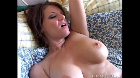 Beautiful Busty Old Spunker Loves To Play With Her Juicy