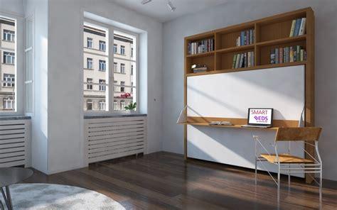 bureau gain de place pas cher lit avec bureau coulissant best meuble de salle de bain