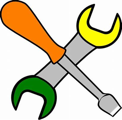 Tools Clip Coloured Clipart Clker
