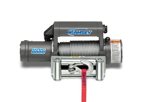 patriot 8000 r 12v with wire pendant ramsey winch