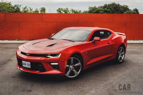 Chevrolet Camaro by Review 2016 Chevrolet Camaro Ss Canadian Auto Review
