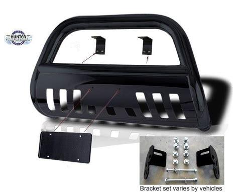 details  fits   nissan frontier classic bull bar black bumper grill push bar bull