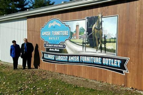 kauffman amish furniture outlet  illinois   largest