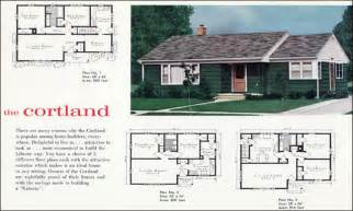 Stunning 1960 House Plans Photos 1940s ranch style houses 1960s ranch style house floor