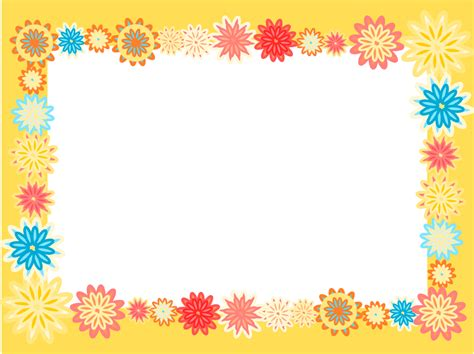 photo frames com free free digital scrapbooking flower frames colorful flower