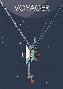 Voyager 1 & 2 - Two NASA space probes, one grand tour of ...