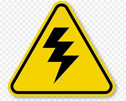 Caution Symbol Clipart Voltage Sign Webstockreview Triangle
