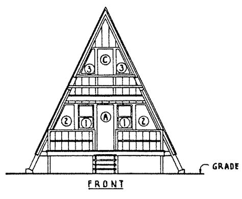 a frame cabin plans free floor plans for a frame homes small a frame house plans