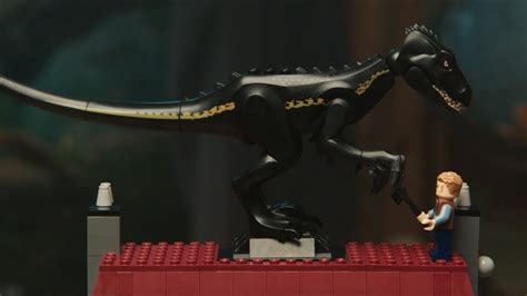 defeat  deadly indoraptor lego jurassic world club