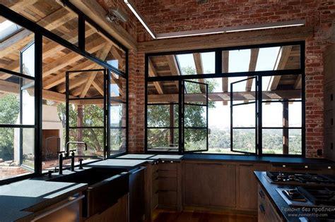 stilnyy interer kukhni  oknom originalnye idei dizayna kukhni