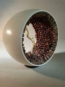 Oeuf D Autruche : seeding and fire ii sculpture oeuf d autruche noyaux de ~ Melissatoandfro.com Idées de Décoration
