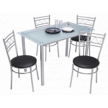 table cuisine grise table et chaise de cuisine grise