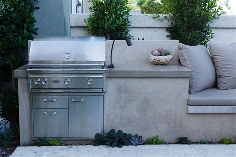 what is the best finish for kitchen cabinets bbq with a smooth stucco and polished concrete 9930