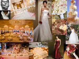 bridesmaid dresses for fall wedding burgundy blush gold pantone wedding styleboard the dessy