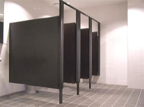 Commercial Bathroom Wall Dividers Partition Walls Contemporary By Mike Foti Phenolic Toilet