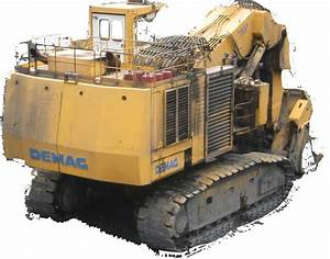 Komatsu    Demag Hydraulic Shovels Factory Service  U0026 Shop