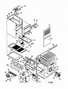 Icp Model Gne125j20a1 Furnace  Heater  Gas Genuine Parts