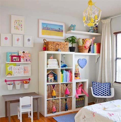 chambres enfants ikea étagères ikea kallax en 55 idées de rangement pratiques
