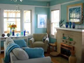 Coastal Blue Living Rooms Designs