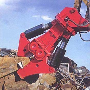 steel shear robur hire excavator attachment hire