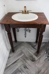 Diy Rustic Bathroom Vanity Plans by Diy Farmhouse Bathroom Vanities Thewhitebuffalostylingco