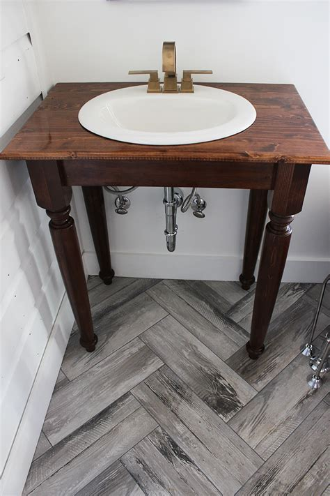 Diy Farmhouse Bathroom Vanities Thewhitebuffalostylingcocom