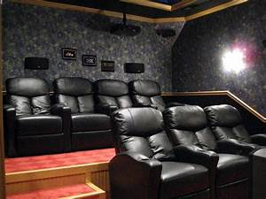 panasonic pt ae3000u home theater by dan hazelwood With home theater furniture placement