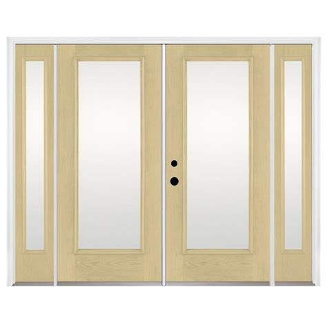 Therma Tru Patio Doors by Shop Benchmark By Therma Tru 93 9375 In 1 Lite Glass