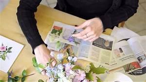 Blätter Pressen Schnell : blumen pressen und trocknen in der mikrowelle youtube ~ Markanthonyermac.com Haus und Dekorationen