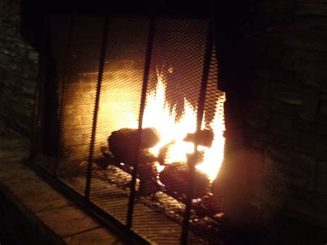 Fire In Fireplace Picture Free Photograph Photos