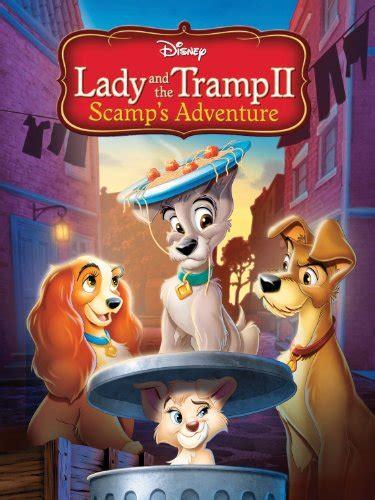 amazoncom lady   tramp ii scamps adventure