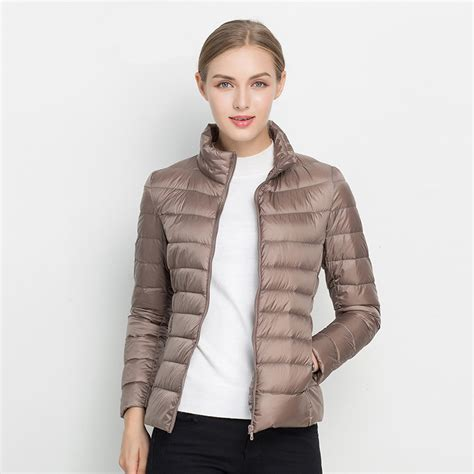 light down jacket women women winter coat 2017 new ultra light white duck down