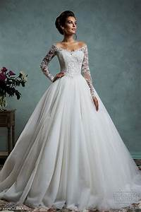 lace ball gown wedding dresses with sleeves naf dresses With most popular wedding dresses