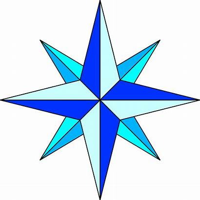 Compass Rose Simple Plain Svg Points Wikipedia