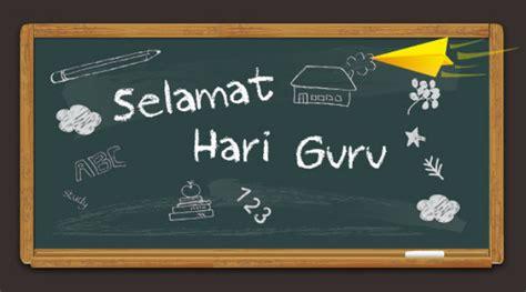 netter sebarkan ucapan selamat  rayakan hari guru nasional