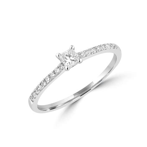 0 15ct princess diamond engagement ring womens from