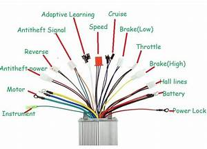Wiring Diagram For 36v Brushless Motor Controller