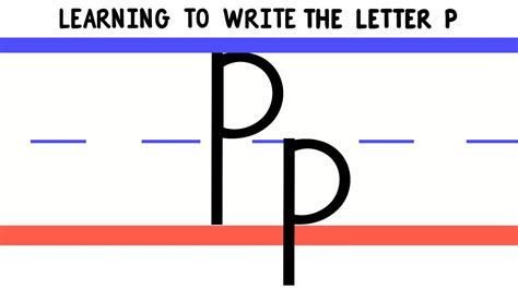 Different Ways Of Writing Letter P