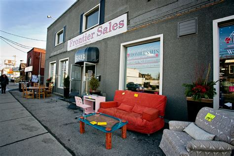 second furniture stores in toronto frontier sales