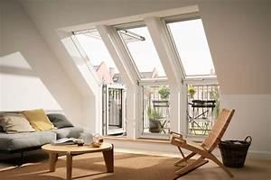 Dachfenster Mit Balkon Austritt : kleiner dachfenster von unserem partner velux ~ Indierocktalk.com Haus und Dekorationen