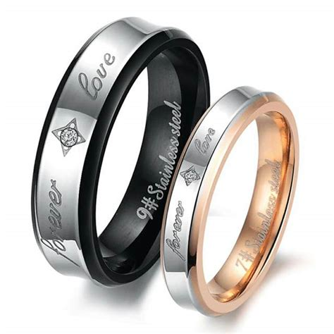 bride and groom wedding ring sets for cheap