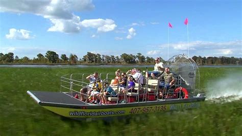 Boat Rides In Orlando by Orlando Everglades Airboat Tour Wildlife Park Entry