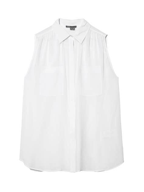 white button up blouse sleeveless white button up blouse collar blouses