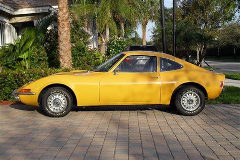 1972 Opel Gt 2 Door Coupe 151363