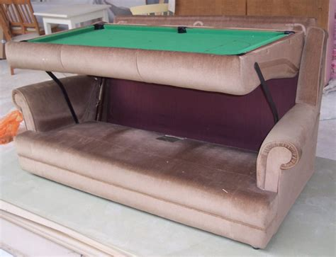 table sofa and bed all in one diy pool table sofa