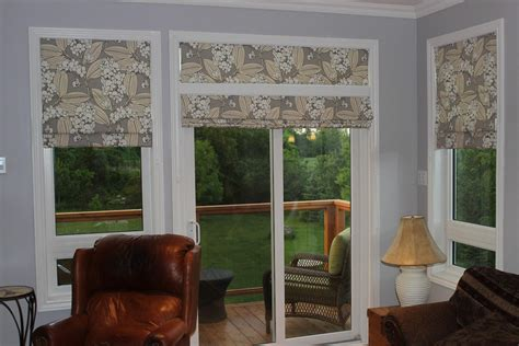 shades for patio doors window treatments design ideas