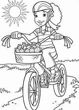 Coloring Bike Pages Riding Bmx Safety Drawing Bicycle Carrie Colouring Underwood Printable Colorings Getdrawings Getcolorings Helmet Drawings Holly Hobbie Template sketch template