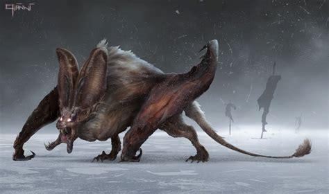 artstation bat creature gianni manuali creature